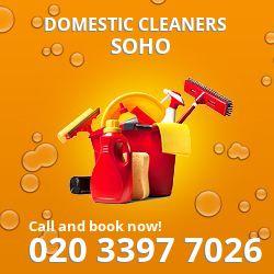 W1 home clean Soho