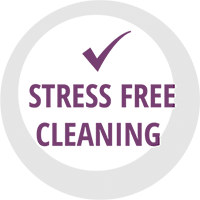 stress free cleaning services