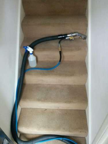 Beckton clean carpet