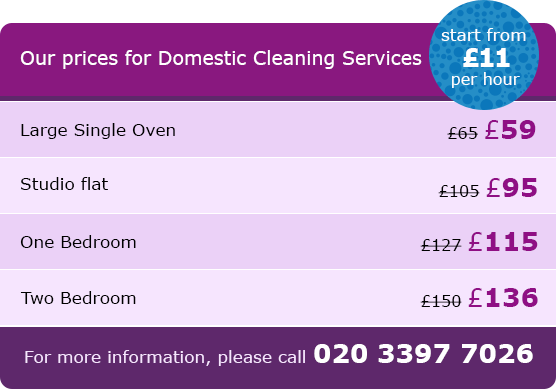 Clapham House Cleaning Prices SW11